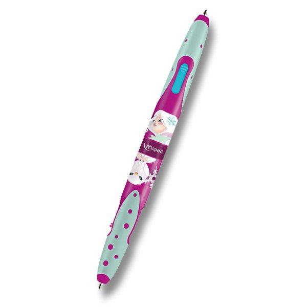 Psací potřeby - Kuličková tužka Maped Twin Tip 4 Tatoo 229 Princezna