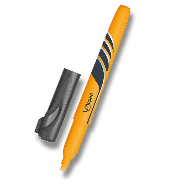 Psací potřeby - Zvýrazňovač Maped Fluo Peps Pen oranžový