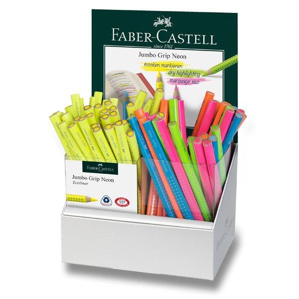Psací potřeby - Pastelky Colour Jumbo Grip Neon stojánek, 72 ks