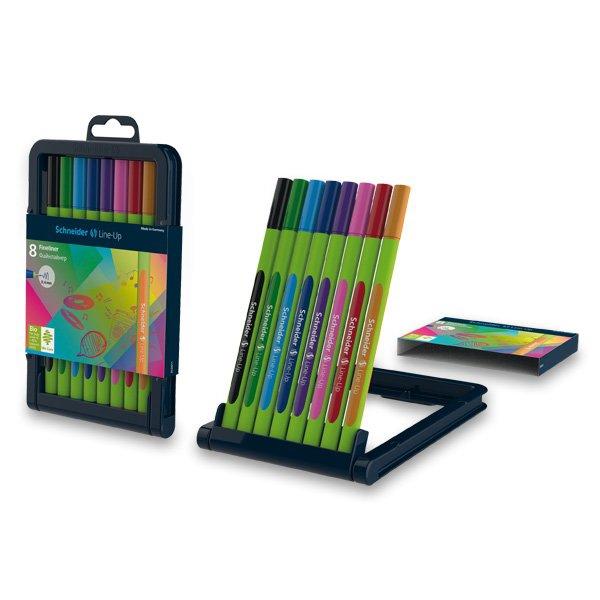 Psací potřeby - Liner Schneider Line-up sada 8 barev