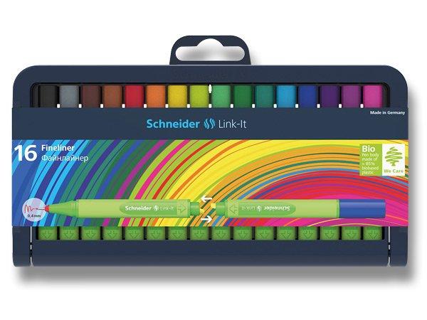 Psací potřeby - Liner Schneider Link-It sada 16 barev