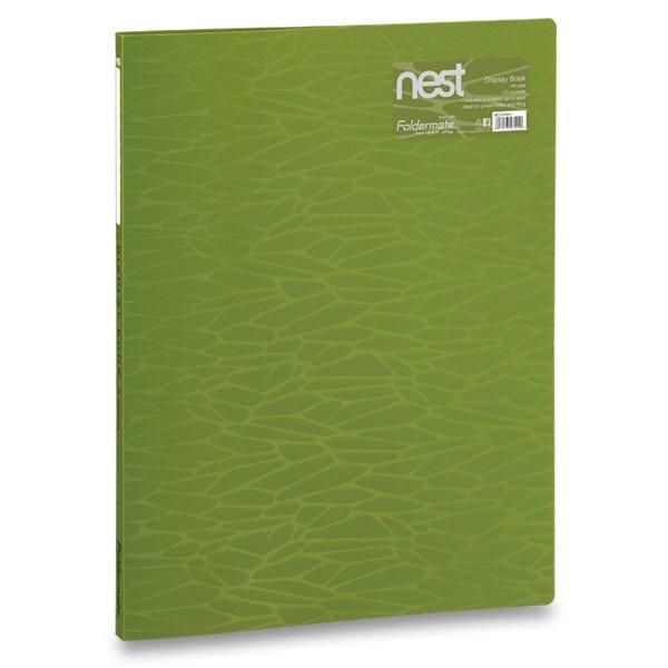 Třídění a archivace - Katalogová kniha FolderMate Nest olivově zelená