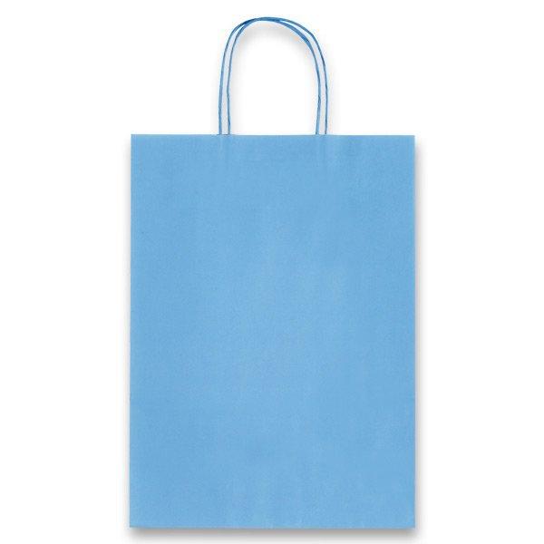 Obalový materiál drogerie - Dárková taška Allegra Light sv. modrá, S