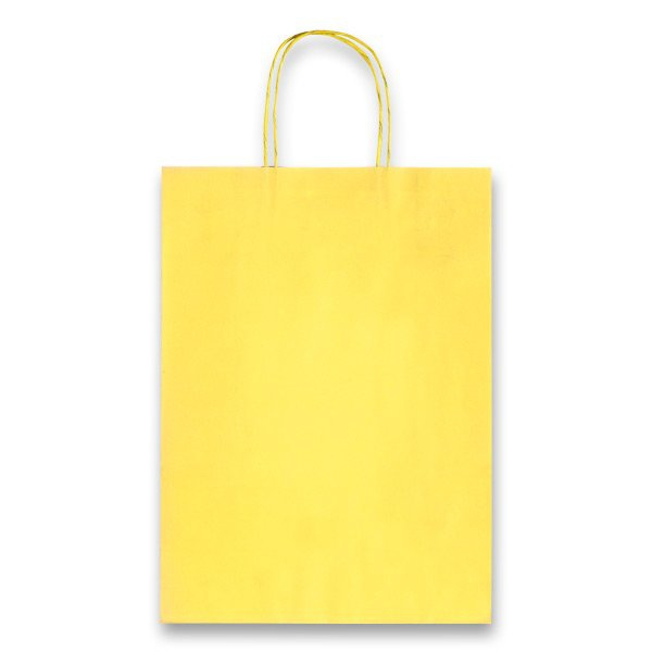 Obalový materiál drogerie - Dárková taška Allegra Light žlutá, XS