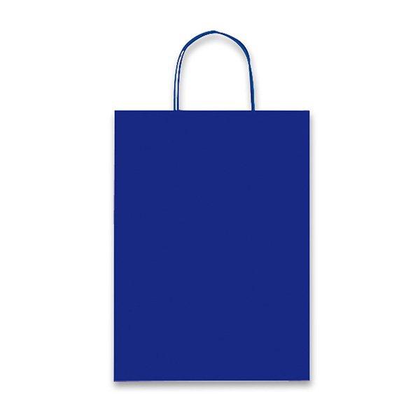 Obalový materiál drogerie - Dárková taška Allegra Light tm. modrá, XS