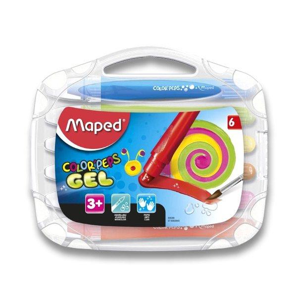 Psací potřeby - Gelové pastely Maped Color'Peps Gel 6 barev