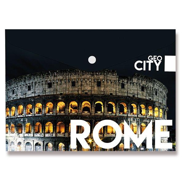Třídění a archivace - Spisové desky Design s drukem Řím, A4