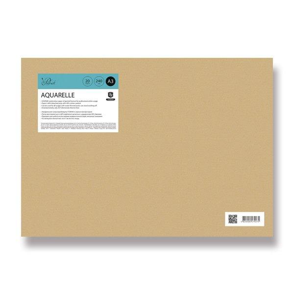 Papír tiskopisy - Kreslicí karton Shkolyaryk Aquarelle A3, 20 listů, 240 g