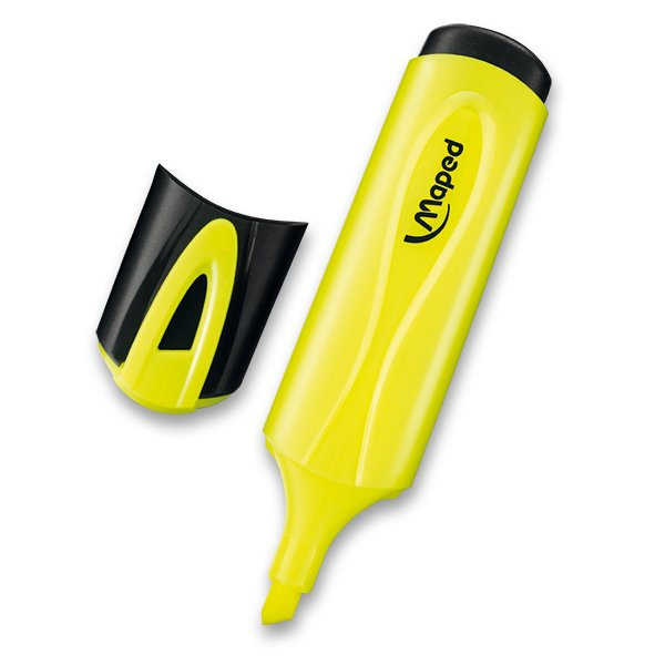 Psací potřeby - Zvýrazňovač Maped Fluo Peps Classic žlutý