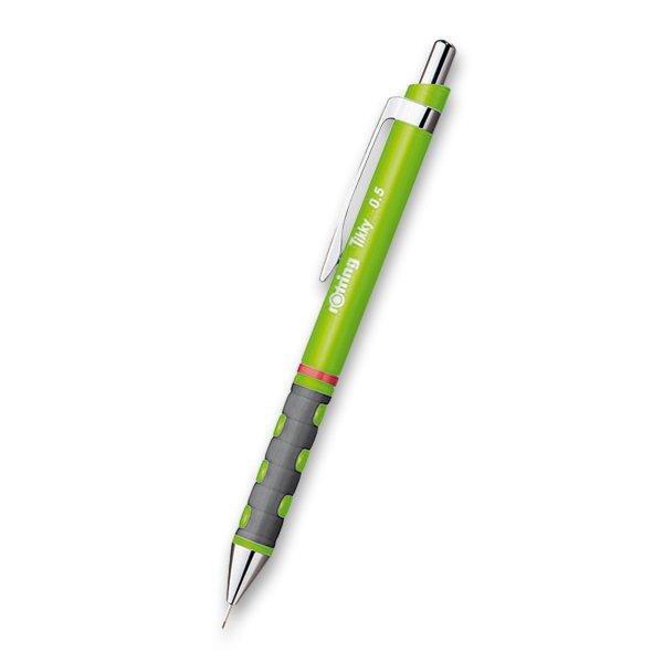 Psací potřeby - Mikrotužka Rotring Tikky Neon zelená