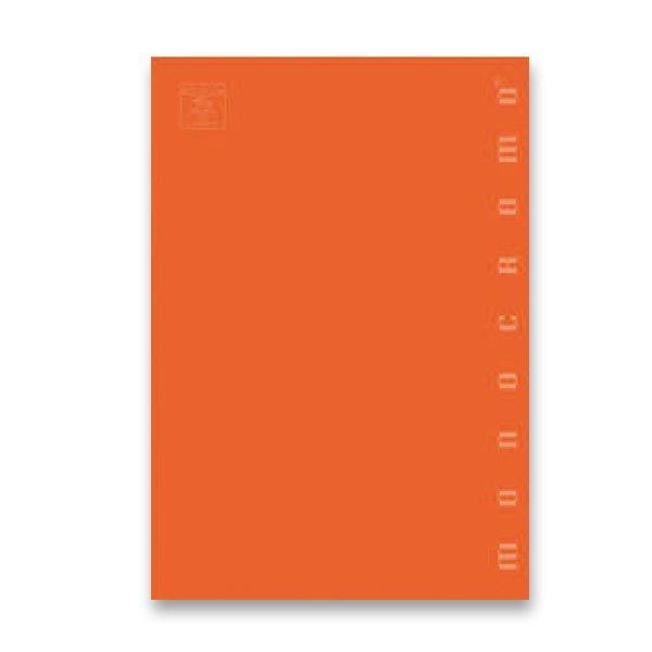 Školní a výtvarné potřeby - Školní sešit Pigna Monocromo A4, čistý, 40 listů, mix barev