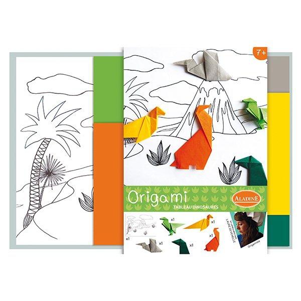 Školní a výtvarné potřeby - Origami Aladine dinosauři