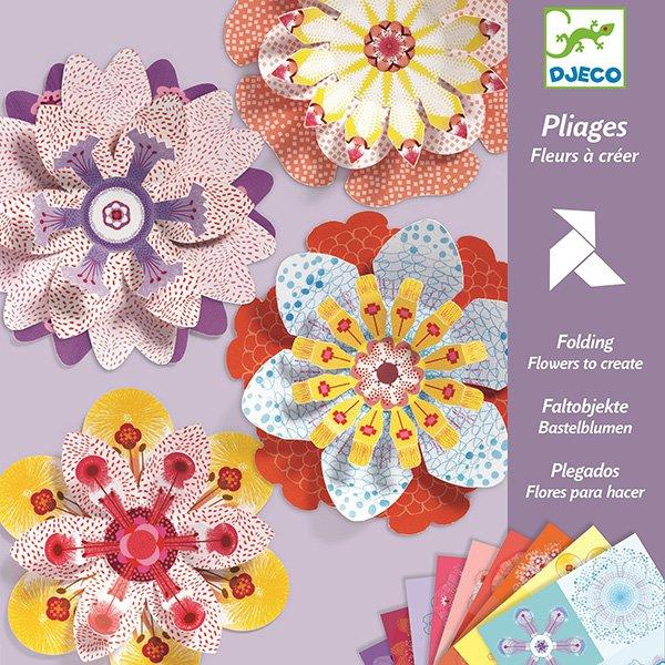 Školní a výtvarné potřeby - Origami skládačka Djeco květiny