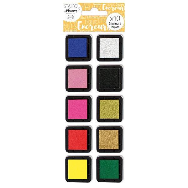 Školní a výtvarné potřeby - Stampo Planner Aladine - Inkoustové polštářky 10 ks