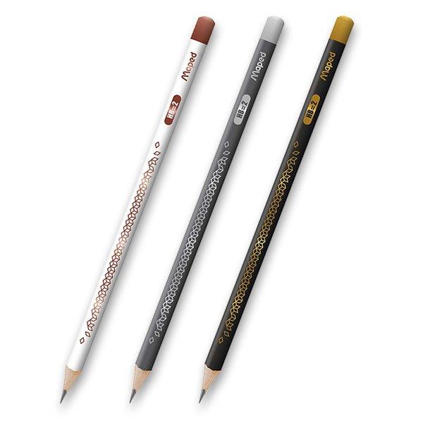 Psací potřeby - Tužka Maped Deco tvrdost HB (číslo 2), mix barev
