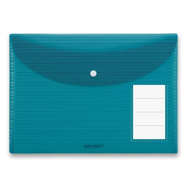 Třídění a archivace - Spisovka s drukem Foldermate iWork modrozelená, A4