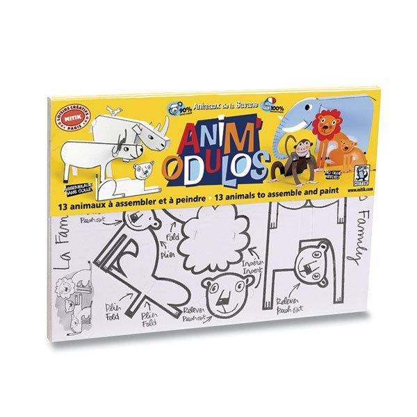 Školní a výtvarné potřeby - Kreativní sada Mitik safari