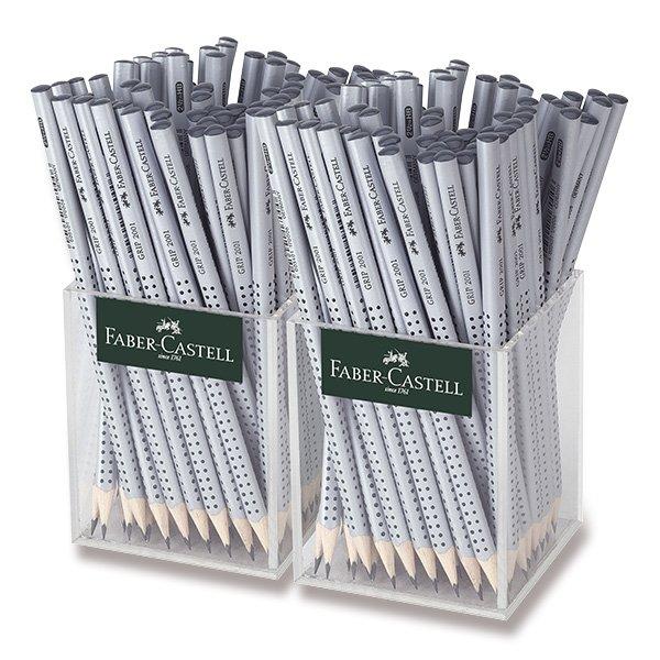 Psací potřeby - Grafitová tužka Faber-Castell Grip 2001 tvrdost HB, stojánek, 144 ks