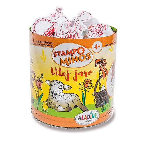 Školní a výtvarné potřeby - Razítka Aladine Stampo Minos - Jaro a Velikonoce 43 razítek