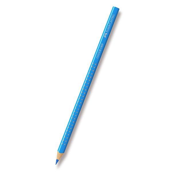Psací potřeby - Pastelka Faber-Castell Grip 2001 - neonové odstíny modrá