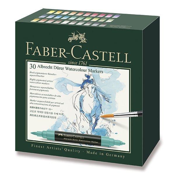 Psací potřeby - Akvarelové popisovače Faber-Castell Albrecht Dürer 30 barev