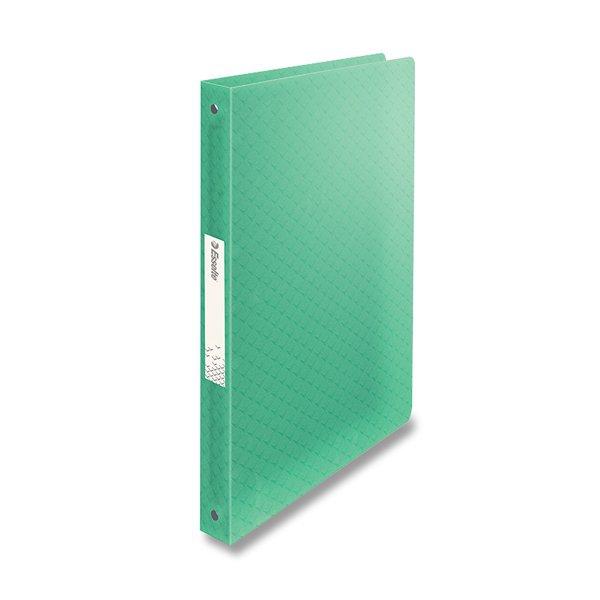 Třídění a archivace - 4kroužkový pořadač Esselte Colour´Ice ledově zelený