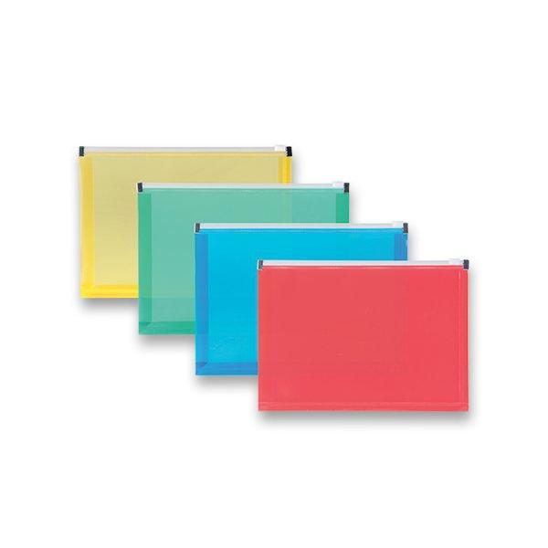Třídění a archivace - Plastová ZIP obálka A5, mix barev