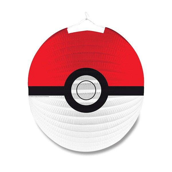 Školní a výtvarné potřeby - Papírový lampión Pokémon průměr 25 cm