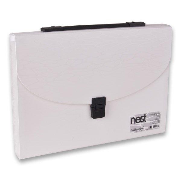Třídění a archivace - Aktovka na dokumenty FolderMate Nest bílá