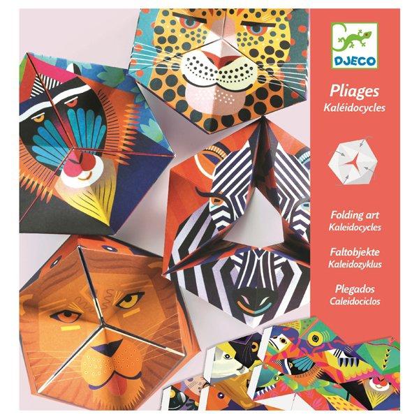 Školní a výtvarné potřeby - Kreativní sada Djeco Kaleidocycle Flexanimals