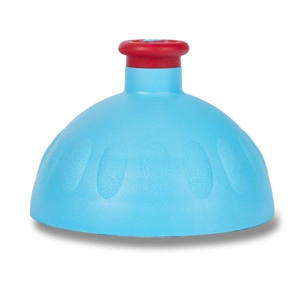 Školní a výtvarné potřeby - Kompletní víčko Zdravá lahev modré/ červená zátka