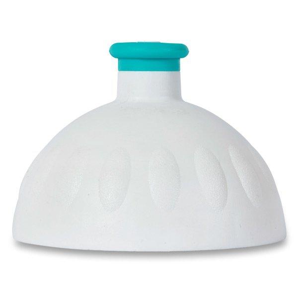 Školní a výtvarné potřeby - Kompletní víčko Zdravá lahev bílé/ tyrkysová zátka