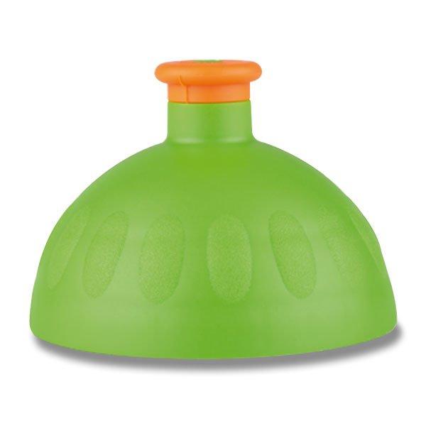 Školní a výtvarné potřeby - Kompletní víčko Zdravá lahev zelené/ oranžová zátka
