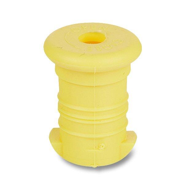 Školní a výtvarné potřeby - Zátka na Zdravou lahev žlutá