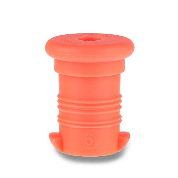Školní a výtvarné potřeby - Zátka na Zdravou lahev oranžová fluo