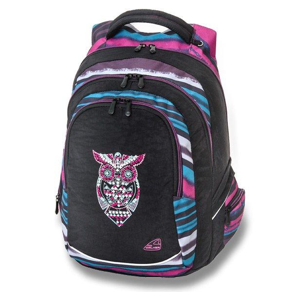 Školní a výtvarné potřeby - Školní batoh Walker Fame Dark Owl