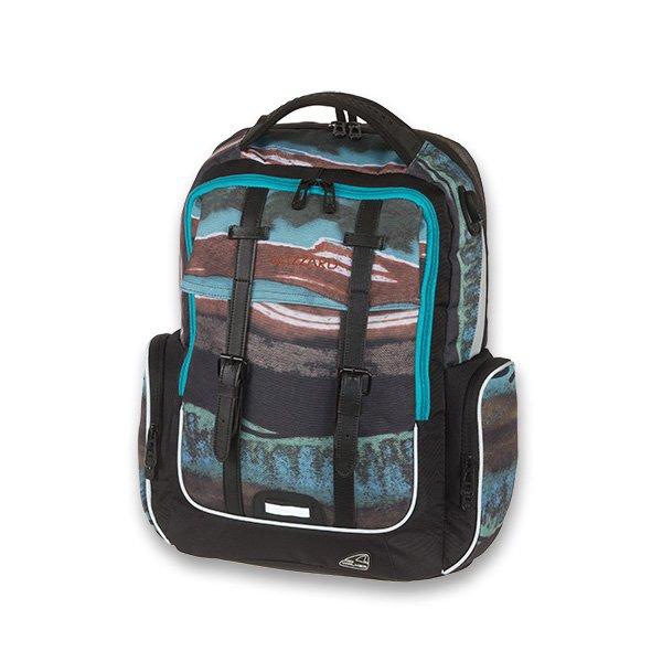 Školní a výtvarné potřeby - Školní batoh Walker Academy Wizzard Blue Pile
