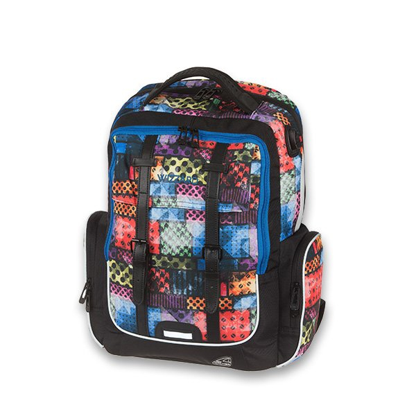 Školní a výtvarné potřeby - Školní batoh Walker Academy Wizzard Wacky Bricks