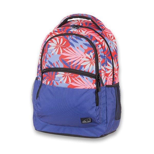 Školní a výtvarné potřeby - Školní batoh Walker Base Classic Red Leaves