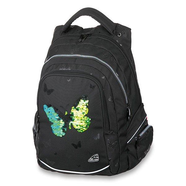 Školní a výtvarné potřeby - Školní batoh Walker Fame Sparkling Butterfly