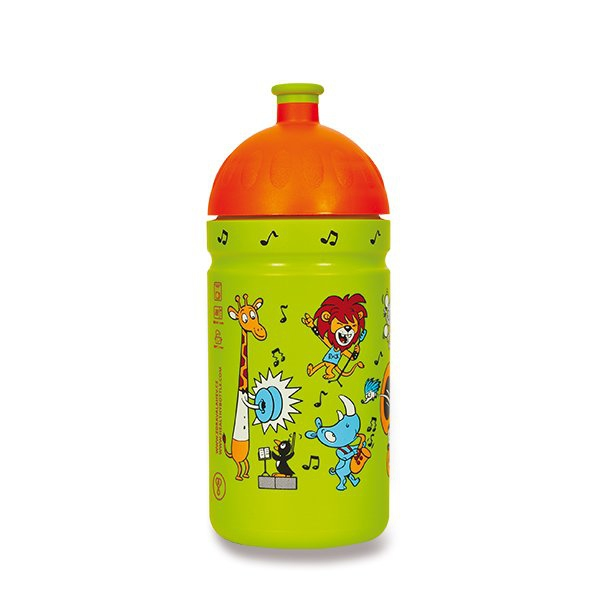 Školní a výtvarné potřeby - Zdravá lahev 0,5 l ZOO kapela