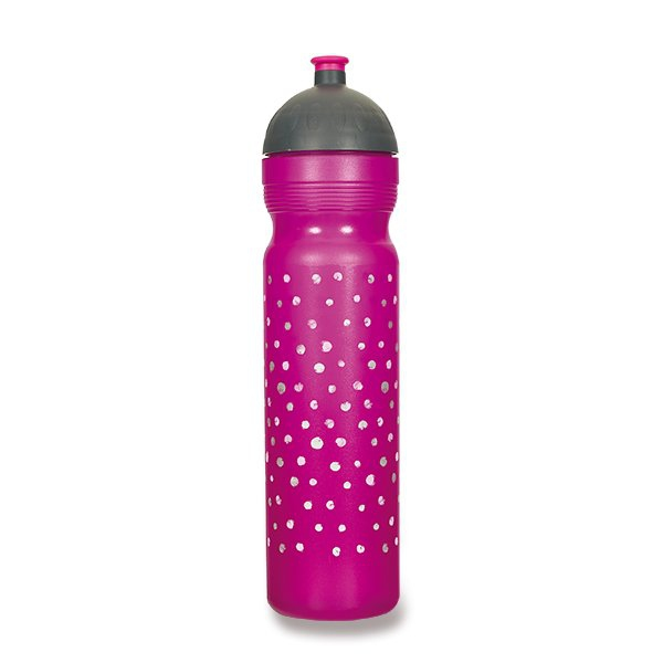 Školní a výtvarné potřeby - Zdravá lahev 1,0 l Puntíky