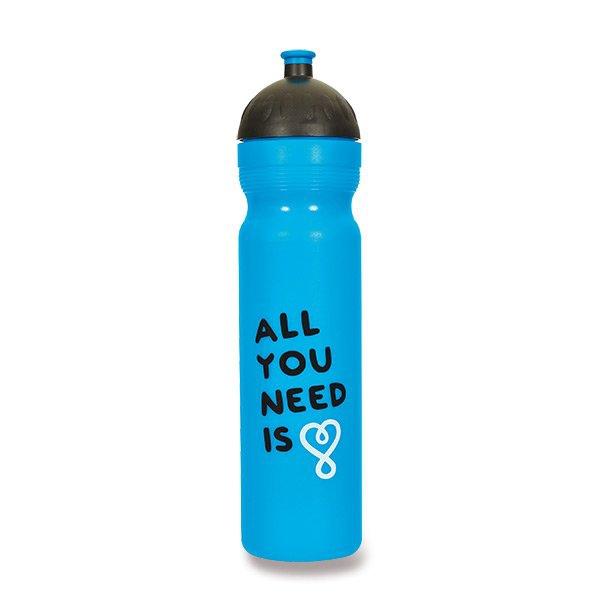 Školní a výtvarné potřeby - Zdravá lahev 1,0 l All you need, modrá, edice UAX