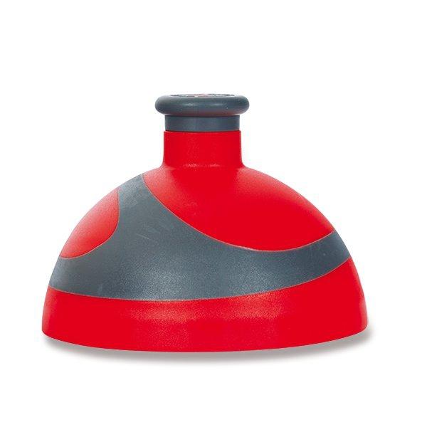 Školní a výtvarné potřeby - Kompletní víčko Zdravá lahev BIKE 2K červené