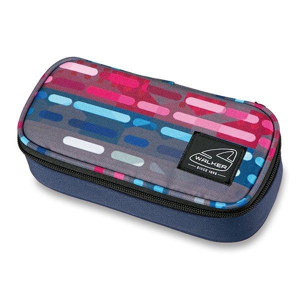 Školní a výtvarné potřeby - Penál Walker Classic Lines Blue Pink