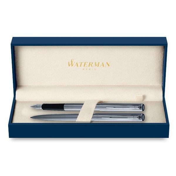 Psací potřeby - Waterman Graduate plnicí pero a kuličková tužka