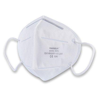 Obalový materiál drogerie - Respirační obličejová maska FFP2, 5 ks