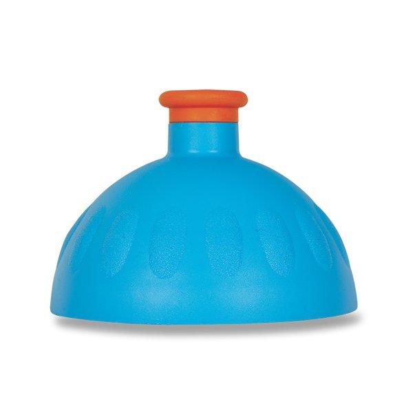 Školní a výtvarné potřeby - Kompletní víčko Zdravá lahev modré/ oražová zátka