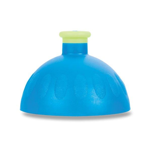 Školní a výtvarné potřeby - Kompletní víčko Zdravá lahev modré/ žlutá reflexní zátka