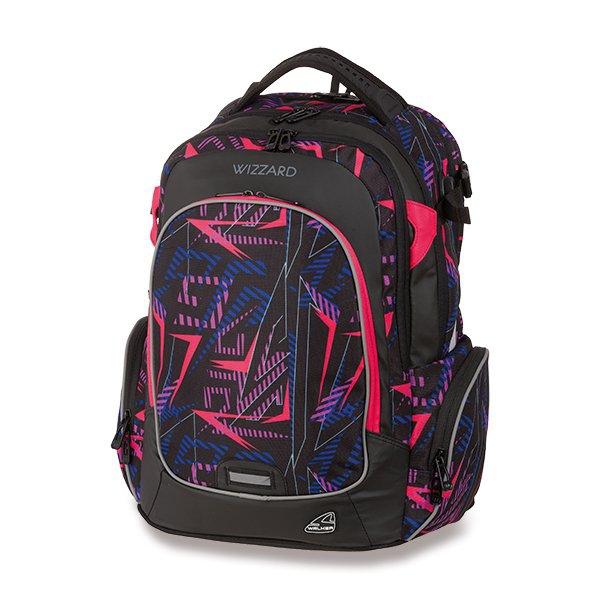 Školní a výtvarné potřeby - Školní batoh Walker Campus Wizzard Neon Lights